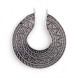 Pendentif breloque en métal Aztèque