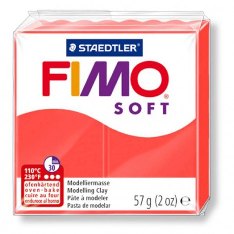 Fimo Soft Orange flamingo 40 - 57 gr