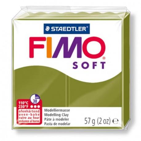 Fimo Soft Vert Olive 57 - 57 gr