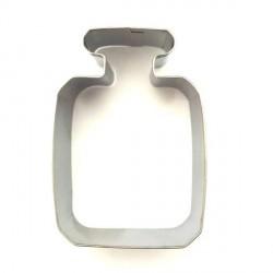 Emporte-pièce métallique Bouteille carrée