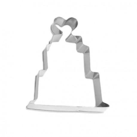 Emporte-pièce métallique Gateau de mariés