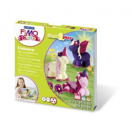 Kit Fimo Kids Licorne