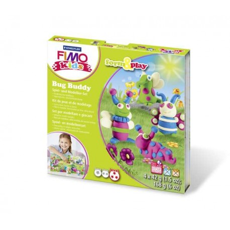 Kit Fimo Kids Amis insectes