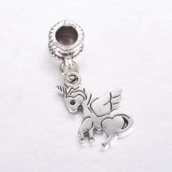 Charm Pendentif Licorne style Pandora - à l'unité