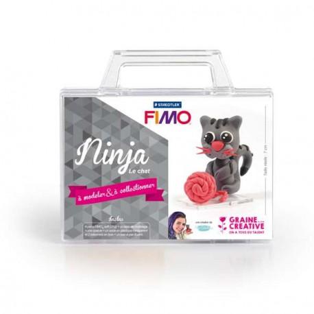Mallette Kit modelage - Ninja le Chat