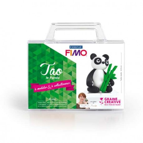 Mallette Kit modelage - Tao le Panda