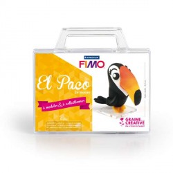 Mallette Kit modelage - El Paco le Toucan
