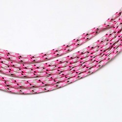 Fil Paracord Bubble Gum 2 mm ø - Au mètre