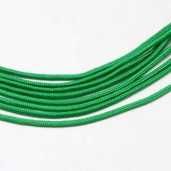 Fil Paracord uni Vert foncé 2 mm ø - Au mètre