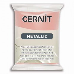 Cernit Metallic Or rose 052 - 56 gr