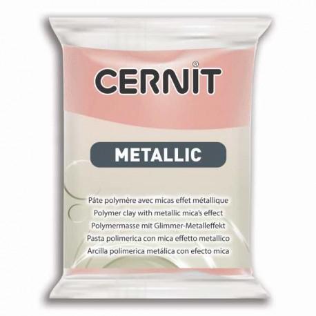 Cernit Metallic Or rose 052 - 56 gr