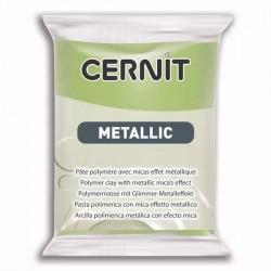 Cernit Metallic Or vert 051 - 56 gr