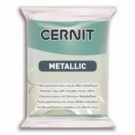 Cernit Metallic Or bleu 054 - 56 gr