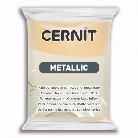 Cernit Metallic Champagne 045 - 56 gr