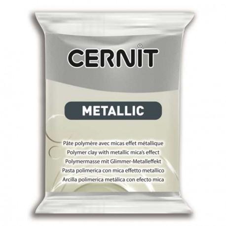 Cernit Metallic Argent 080 - 56 gr