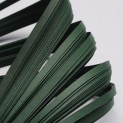 120 Bandes papier pour Quilling - 10 mm - vert foncé