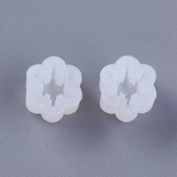 Moule silicone pour résine Boucle d'oreille Flocon de neige