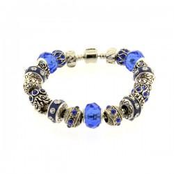 Bracelet style pandora Bleu