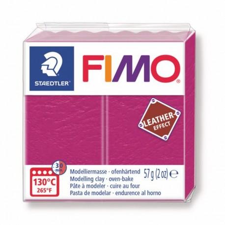 Fimo Effet cuir Violet 229 - 57 gr