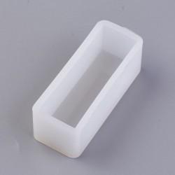Moule silicone Rectangle profond 65 x 26 mm pour résine