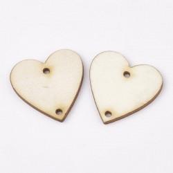 Entre-deux Coeur en bois