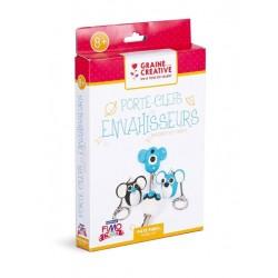 Kit Fimo Kids Les Envahisseurs Porte-Clés