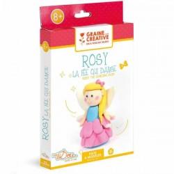 Kit Pâte à modeler Rosy la Fée qui danse