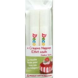 Crayons nappage Coulis Sucre pour pâte Fimo