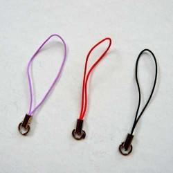 Boucle cordon en soie