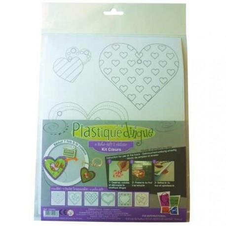 Kit Plastique dingue Coeurs