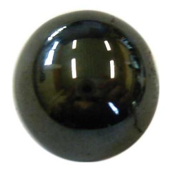 Perle hématite 10mm pour Shamballa