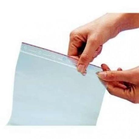 Sachet plastique minigrip 10 x 17 cm - par 10