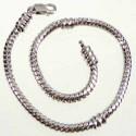 Bracelet style Pandora avec vis 23 cm argenté