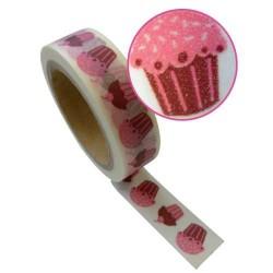 Masking Tape Cupcakes - 15 mm x 10 m