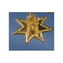 Chandeliers de table 5.5cm, dorés