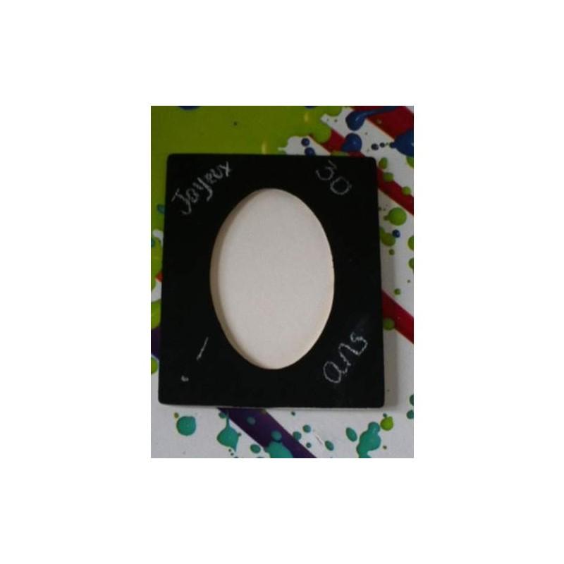 Peinture ardoise tableau noir 100 ml noir for Peinture a tableau exterieur