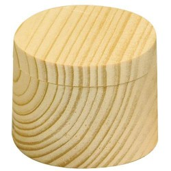 Boîte pivotante ronde 6 x 4,5 cm
