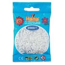 Sachet 2000 Perles Hama Mini - Blanc
