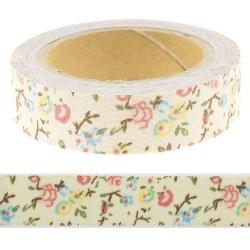 Masking Tape floral rose - 15 mm x 4 m