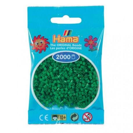 Sachet 2000 Perles Hama Mini - Vert