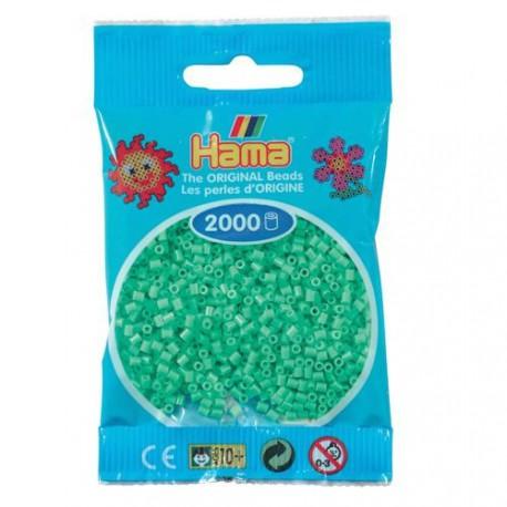 Sachet 2000 Perles Hama Mini - Vert clair