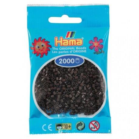 Sachet 2000 Perles Hama Mini - Marron