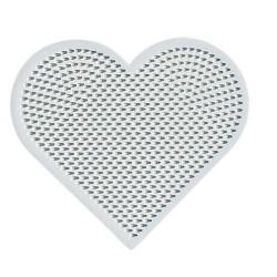 Plaque perles à repasser Hama Mini - Coeur