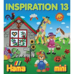 Livre perles à repasser Hama Mini - Inspiration 13