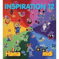 Livre perles à repasser Hama Midi - Inspiration 12