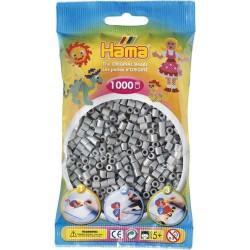 Sachet 1000 Perles Hama Midi - Gris