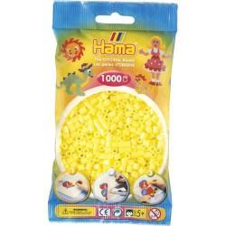 Sachet 1000 Perles Hama Midi - Jaune pastel