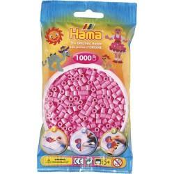 Sachet 1000 Perles Hama Midi - Rose pastel