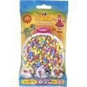 Sachet 1000 Perles Hama Midi - Assortiment pastel