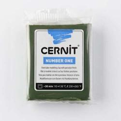 Cernit Number One Vert Olive 645 - 56 gr